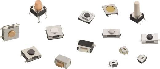Nyomógomb 12 V/DC 0.05 A 1 x KI/(BE) Würth Elektronik 430186050716 Nyomó 1 db