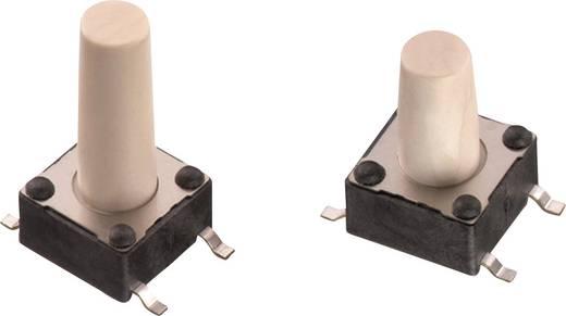 Nyomógomb 12 V/DC 0,05 A 1 x KI/(BE) Würth Elektronik 430152095826 nyomó 1 db