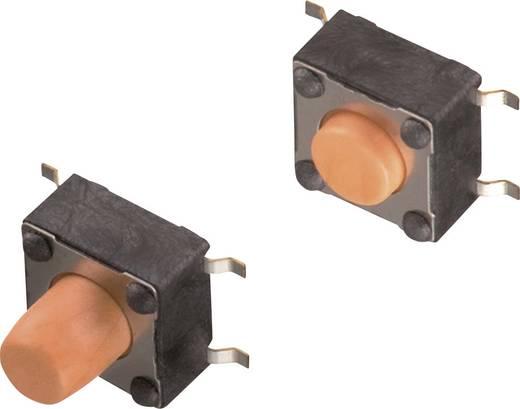 Nyomógomb 12 V/DC 0,05 A 1 x KI/(BE) Würth Elektronik 430152095836 nyomó 1 db