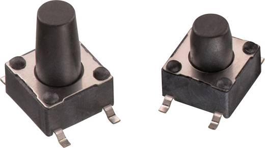 Nyomógomb 12 V/DC 0,05 A 1 x KI/(BE) Würth Elektronik 430182095816 nyomó 1 db