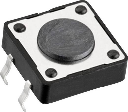 Nyomógomb 12 V/DC 0,05 A 1 x KI/(BE) Würth Elektronik 430456043736 nyomó 1 db