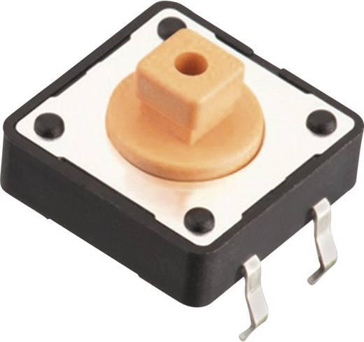 Nyomógomb 12 V/DC 0,05 A 1 x KI/(BE) Würth Elektronik 430456073736 nyomó 1 db