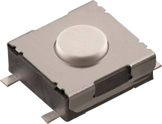 Nyomógomb 12 V/DC 0,05 A 1 x KI/(BE) Würth Elektronik 430471031826 nyomó 1 db