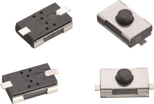 Nyomógomb 12 V/DC 0,05 A 1 x KI/(BE) Würth Elektronik 434121025816 nyomó 1 db