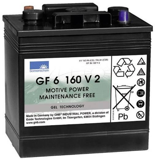 Ólomakku 6 V 160 Ah GNB Sonnenschein GF 06 160V2 GF06160V2 Ólom-zselés 264 x 270 x 183 mm Karbantartásmentes