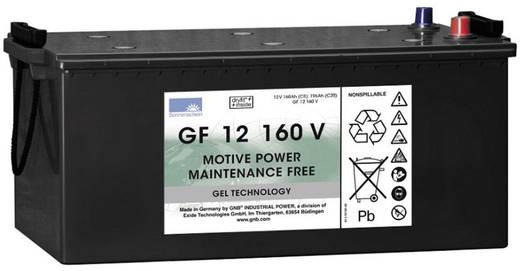 Ólomakku 12 V 160 Ah GNB Sonnenschein GF 12 160 V GF12160V Ólom-zselés 518 x 238 x 274 mm Karbantartásmentes