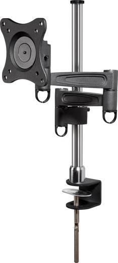 Monitortartó konzol, dönthető/forgatható, max. 15 kg, 33-69 cm (13 - 27)