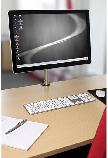 Monitortartó konzol, dönthető/forgatható, max. 15 kg, 33-69 cm (13 - 27) fekete / ezüst