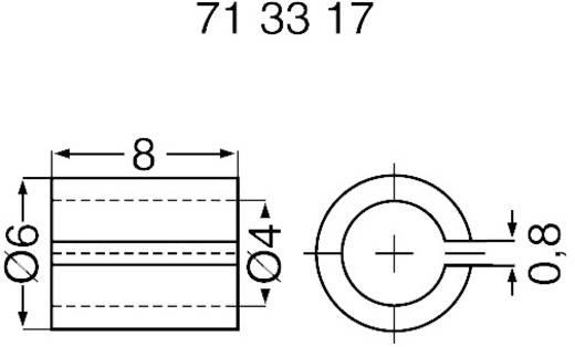 Hasított redukáló cső 4mm-6mm