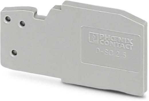 D-SC 2,5 - zárófedél D-SC 2,5 Phoenix Contact tartalom: 50 db