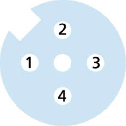 M12 Érzékelő-/működtető kábel base line pólusszám: 4 BL-WAK4-5/P00 Escha tartalom: 1 db