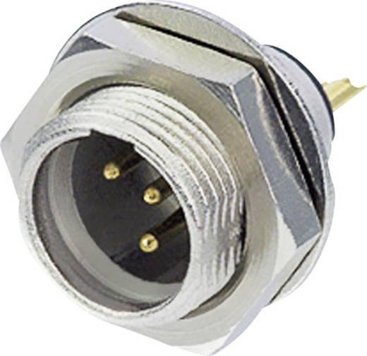 XLR csatlakozó dugó, beépíthető, függőleges pólusszám: 4 ezüst Rean AV RT4MPR 1 db