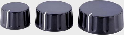 Forgatógomb Ø 43,5 mm, 6 mm-es tengelyre, fekete, ALPS 867000