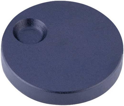 Forgatógomb mélyedéssel, 6 mm, antracit, ALPS 863002