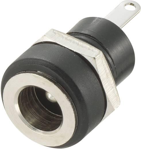 Kisfeszültségű csatlakozó Alj, beépíthető, függőleges 4.9 mm 1.65 mm 1 db