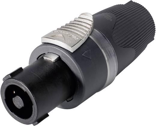 Hangszóró csatlakozó dugó, egyenes pólusszám: 4 fekete Sommer Cable NL4FX-SOM 1 db