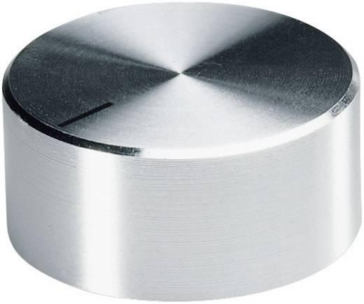Alu forgatógomb oldalsó csavarrögzítéssel, 6 mm-es tengelyre, 22,5 x 6 x 14 x 13,3 x 3 x 11 mm, OKW