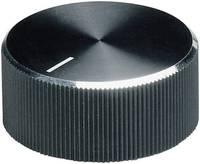 Alu forgatógomb oldalsó csavarrögzítéssel, 6 mm-es tengelyre, 18,6 x 6 x 13 x 12 x 3,3 x 9,5 mm, OKW (A1418260) OKW