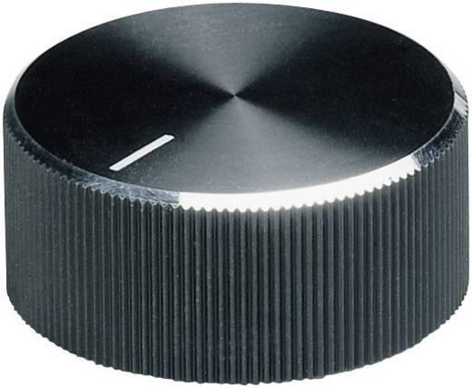 Alu forgatógomb oldalsó csavarrögzítéssel, 6 mm-es tengelyre, 18,6 x 6 x 13 x 12 x 3,3 x 9,5 mm, OKW