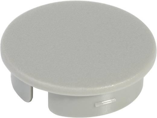 Fedél a 10 mm-es kerek gombhoz szürke/fehér