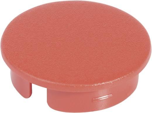Fedél a 31 mm-es kerek gombhoz piros/fekete