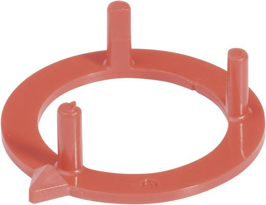 Nyilas gallér a 31 mm-es kerek gombhoz piros