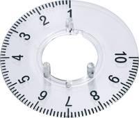 Skálatárcsa 23 mm-es kerek gombhoz (270°) 1-10 OKW