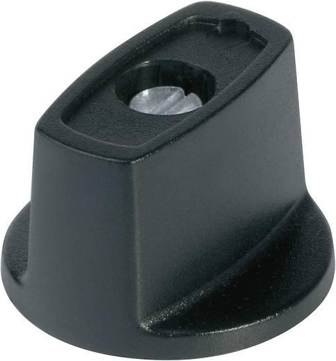 Kapcsológomb 16 mm fekete