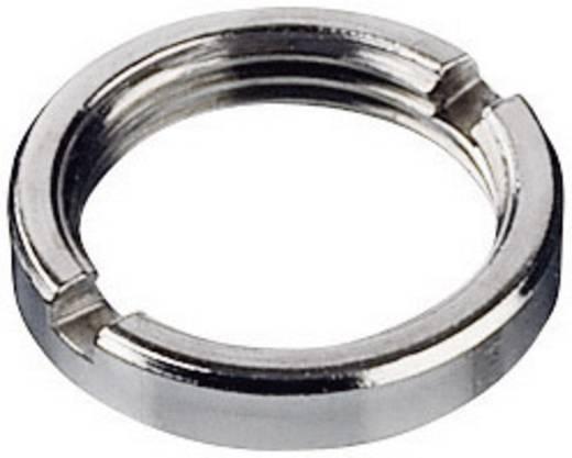 Potméter rögzítő anya M7x0,75, fém, kerek, COM-KNOBS és TOP-KNOBS gombokhoz 20 mm-ig, OKW