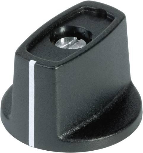 Kapcsológomb 16 mm fekete/fehér