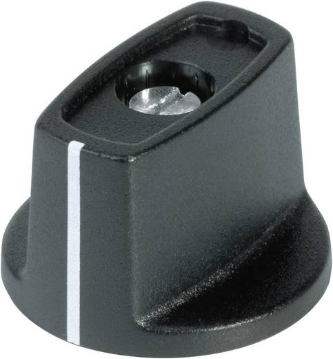 Kapcsológomb 23 mm fekete/fehér