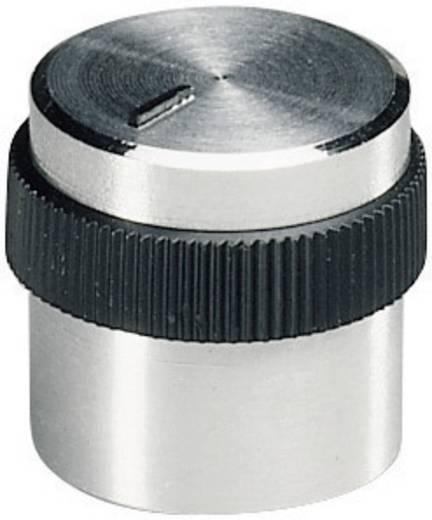 Alu forgatógomb oldalsó csavarrögzítéssel, Ø 6 mm, 15,9 x 6 x 15,2 x 12,4 mm, OKW