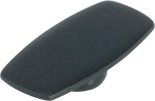 Fedél a 23 mm-es gombhoz fekete
