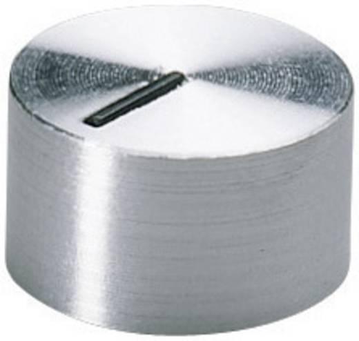 Alu forgatógomb oldalsó csavarrögzítéssel, 6 mm-es tengelyre, 12 x 6 x 7,1 x 5,6 mm, OKW