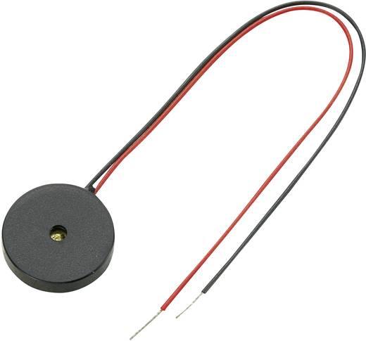 Piezokeramikus jelátalakító Hangerő: 80 dB 20 V/DC 4.8 kHz Tartalom: 1 db