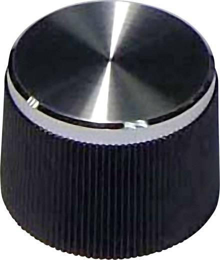 Univ.forgatógomb 6mm fekete