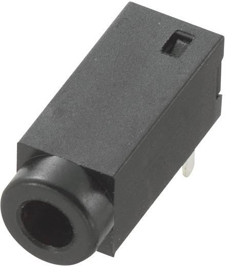 Beépíthető jack csatlakozó aljzat 2,5 MM 2 pólusú vízsszintesen beültethető kivitelű