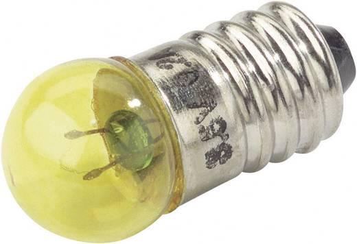 Gömbizzó 3,5V 0,2A E10 sárga