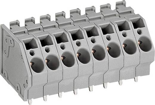Nyomtatott áramköri lap érintkező, 6MM 3pólusú RM7,5