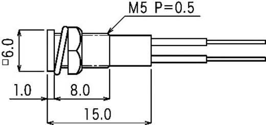 Miniatűr jelzőlámpa, , B-415, 12V, kék