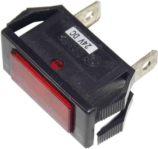 Jelzőlámpa 24 V/DC, piros SCI
