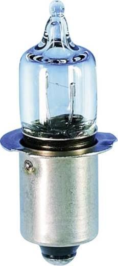 Miniatűr halogén izzó P13.5s, 2,8 V, 1,4 W, 500 mA, átlátszó, Barthelme 01692850