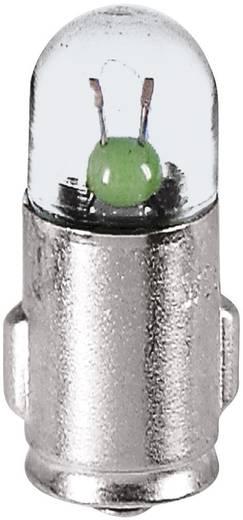Ellenőrző lámpa 12 V 1.2 W 100 mA, foglalat: BA7s, átlátszó, Barthelme