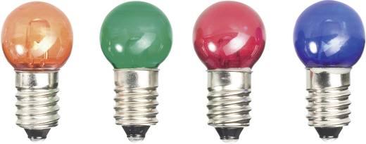 LED-es gömbizzó E10 sárga 12V 24 mm 52211212
