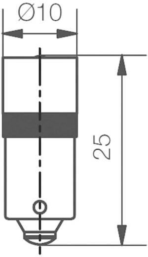 Fehér LED jelzőfény (jelzőlámpa helyettesítő) Signal Construct MEDB2564 Fehér Üzemi feszültség 24 V/DC Foglalat BA9s