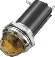 Jelzőlámpa 12 V/DC Borostyán, SCI 28430c996 SCI