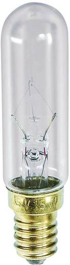 Cső izzó, E14, 130 V, 15 W, 115 mA, átlátszó, Barthelme 00721315