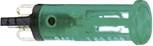 Jelzőlámpák izzóval 28 V 1.2 W, zöld (átlátszó), RAFI, tartalom: 10 db