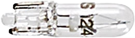 RAFI izzó jelzőlámpához, 24V, W2 x 4,6d, színtelen, 1.90.120.011/0000