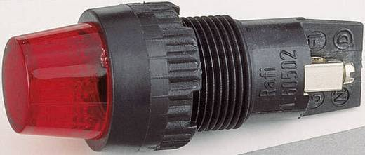 RAFI jelzőlámpa izzófoglalattal, max. 250V, 2W, E10, piros (átlátszó), 1.60.502.102/1301